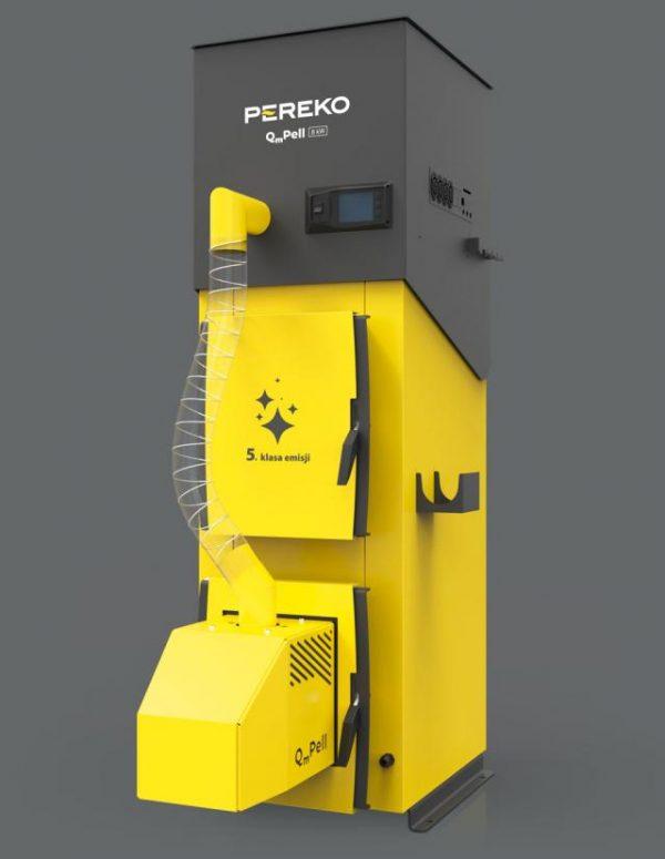 QmPell kocioł piec na pellet firmy Pereko